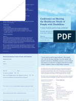 GDIL Health Conference Document