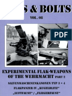 Nuts and Bolts Vol 08 Experimental Flak Weapons of the Wehrmacht Pt.2