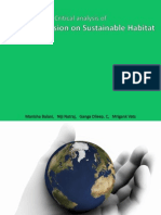 Critical Analysis of National Mission on Sustainable Habitat