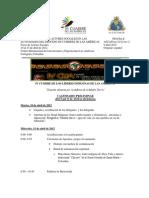 Agenda IV Cumbre de Lideres Final