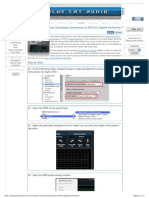 BlueCatAudio Automation Envelopes Generation in Digital Performer 7 - Create Advanced Custom Side Chain Effects