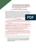 DCNR Long Pine Run Draft Recommendation