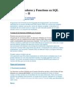 Functions en SQL Server 2005