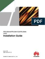 RRU3804&RRU3801E&RRU3806 Installation Guide(V200_08)