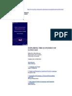 Breton, Albert (Ed) -- Exploring the Economics of Language