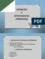 Expo Definicion y Estra. de Aprendizaje