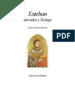 Martini, Carlo Maria - Esteban, Servidor y Testigo (Ejercicios Espirituales)