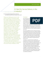 What's Next for Service Delivery