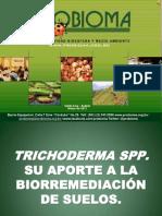 Biorremediación Trichoderma, PROBIOMA Marzo 2012