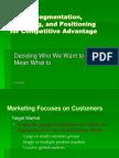 Marketing 4 (STP)