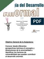 Psicología del Desarrollo Anormal