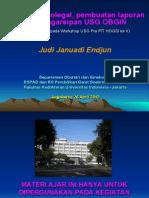 HOGSI USG Pra PIT v Aspek Medikolegal, Pembuatan Laporan Dan Pengarsipan USG OBGIN, JJE, 20120426