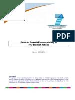 Nova versió de la Guia Financera per a accions indirectes de FP7