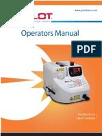 Pilot Laser Operator's Manual