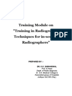 Training Module Radiographic Positioning and Anatomy