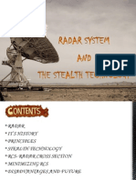 Radar System and the Stealth Technology......Amit Kumar A72 G4001