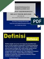 Profesionalisme Kejururawatan - Teknik Refleksi [Compatibility Mode]