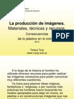 La producción de imágenes