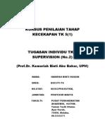 Supervision- Tugasan PTK 5