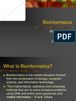 Bioinformatics Intro