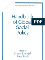 Handbook of Global Social Policy