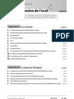 Livret Correcteur Delf Pro b2