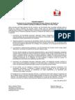 Pronunciamiento - Defensoria Del Pueblo y Episcopal de Ayacucho Respecto Al Caso Minas Conga 09-04-12