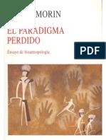 Morin, E. El Paradigma Perdido