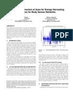 Accelerometer Positioning