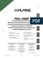 Alpine Om Pkg-1000p En