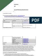 SAP Questionnaire 061510