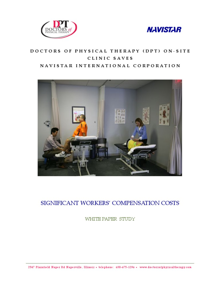 Dpt White Paper Physical Therapy Health Care