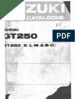 Gt250 Parts