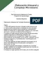 manual de elaboración artesanal de complejo microbiano