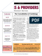 Payers & Providers Midwest Edition – Issue of April 10, 2012