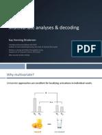 Multivariate analyses & decoding