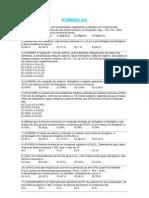 Exercicios TIPOS de FORMULAS Organicas