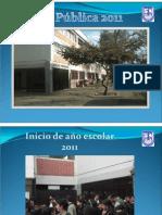 Cuenta Publica 2011
