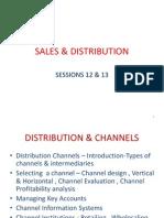 Sales & Distribution 12 & 13