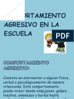 Power Point Comportamiento Agresivo (1)