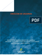Creacion de Usuarios y Privilegios dentro de windows server 2003