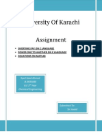 C language and MATLAB assignment
