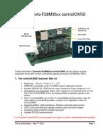 F28M35xx InfoSheet Rev1 0-09-07 11 Release