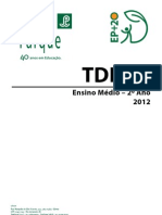 Gávea - TDEPs - 2º Ano - 1º Bimestre
