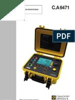 Manual AEMC 6471