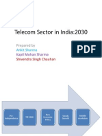 Telecom Sector in India- 2030