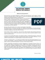 Salvatore Ombra-Mettere Fine Alle Polemiche