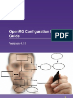 Openrg Configuration Guide