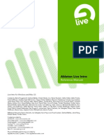 Ableton Live Intro Manual En