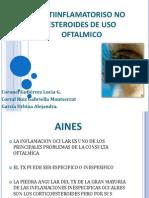 AINEs Oftalmología